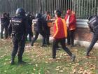 İspanyol polisinden G.Saraylılara terörist muamelesi