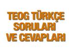 2015 TEOG Türkçe soruları ve cevap anahtarı MEB EBA