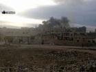 Rusya Azez'de sivillere bomba yağdırdı