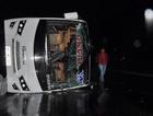Zonguldak'ta tur midibüsü devrildi