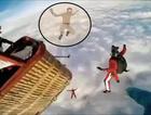Çılgın genç 4 bin metreden paraşütsüz atladı