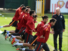 Galatasaray'da sakatlar idmana katılmadı