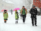 Erzincan'da okullara kar tatili