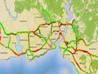 İstanbul'da tatil bitti trafik felç!