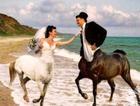 'Yok artık' dedirten düğün fotoğrafları