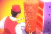Japon çizgi filmindeki 'Döner' sahnesi sanal alemi salladı