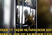 Otobüs şoförüne yumruklu saldırı: Seni boğarım!