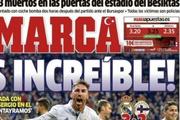 İspanyol Gazete'den ay yıldızlı mesaj