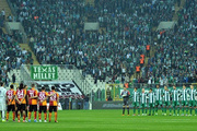 Bursaspor Galatasaray maçında çirkin sahne