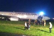 THY uçağı Priştine'de pistten çıktı!