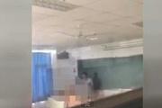 Öğrencisiyle ilişkiye giren hocayı çırılçıplak bastılar!