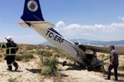 Isparta'da eğitim uçağı acil iniş yaptı!