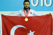 Genç halterci Ahmet Turan Okyay Dünya şampiyonu