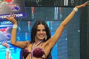 THY'nin hostesi bikini şampiyonu oldu!...
