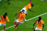 Fenerbahçe'nin penaltı beklediği pozisyon