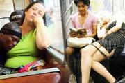 Bu kadarına da pes! Metroda bakın ne yaptılar