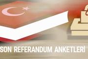 Referandum anket sonuçları evet mi hayır mı önde?