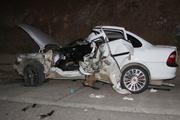 Konya'da feci kaza baba-oğul öldü