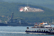 ABD savaş gemileri Çanakkale Boğazı'nda