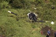 Helikopter düştü ünlü grubun solisti öldü