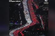 Los Angeles'de Şükran Günü trafiği