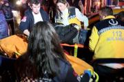 Beyoğlu'nda trafik kazası: 2 yaralı