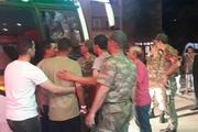 Amasya'da 81 asker hastaneye kaldırıldı