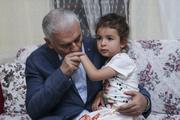 Başbakan Yıldırım o aileye misafir oldu
