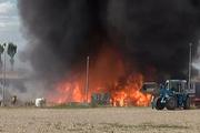 Ankara'da korkutan fabrika yangını
