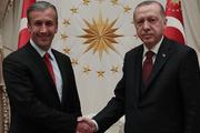Erdoğan, Tareck El Aissami'yi kabul etti