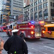 New York'ta son dakika patlama olay yerinden ilk görüntüler