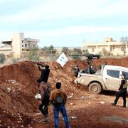 Afrin operasyonu için muhalifler siperde