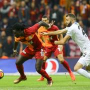 Galatasaray Akhisarspor maçı fotoğrafları