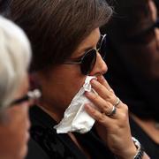 Vatan Şaşmaz'ın cenaze töreninden acı kareler