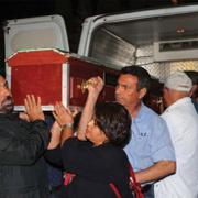 Aysel Tuğluk'un annesinin cenazesinde olay çıktı