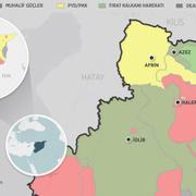 Afrin nerede haritası -Önemli Afrin gerçekleri TSK kaç günde alır?