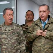 Cumhurbaşkanı Recep Tayyip Erdoğan Suriye sınırında