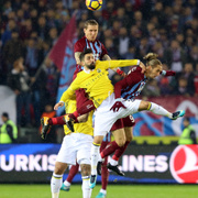 Trabzonspor Fenerbahçe maçı fotoğrafları