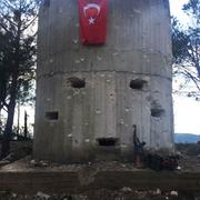 PYD'nin Burseya'daki kuleleri işte böyle düşürüldü...