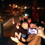 Afrin'e giden askere duygulandıran sürpriz!