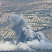Afrin'de terör mevzileri bombalanıyor