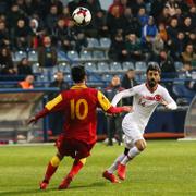 Karadağ-Türkiye maçı fotoğrafları