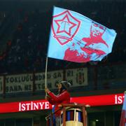 Trabzonspor-Beşiktaş maçı fotoğrafları