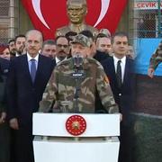 Erdoğan'dan sınır karakolunda önemli mesajlar!