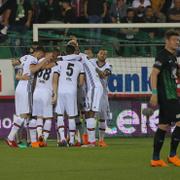 Akhisarspor-Beşiktaş maçı fotoğrafları