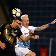 Osmanlıspor-Trabzonspor maçı fotoğrafları