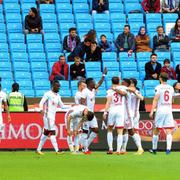 Trabzonspor - Sivasspor maçı fotoğrafları
