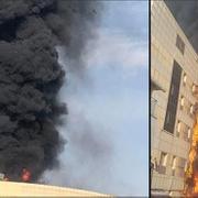 İstanbul'daki hastanede korkunç yangın! İlk görüntüler