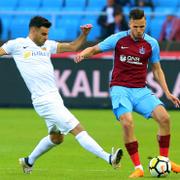 Trabzonspor Kayserispor maçı fotoğrafları