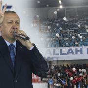 Erdoğan ve Yıldırım'ı Ankara'da gençler yalnız bırakmadı!